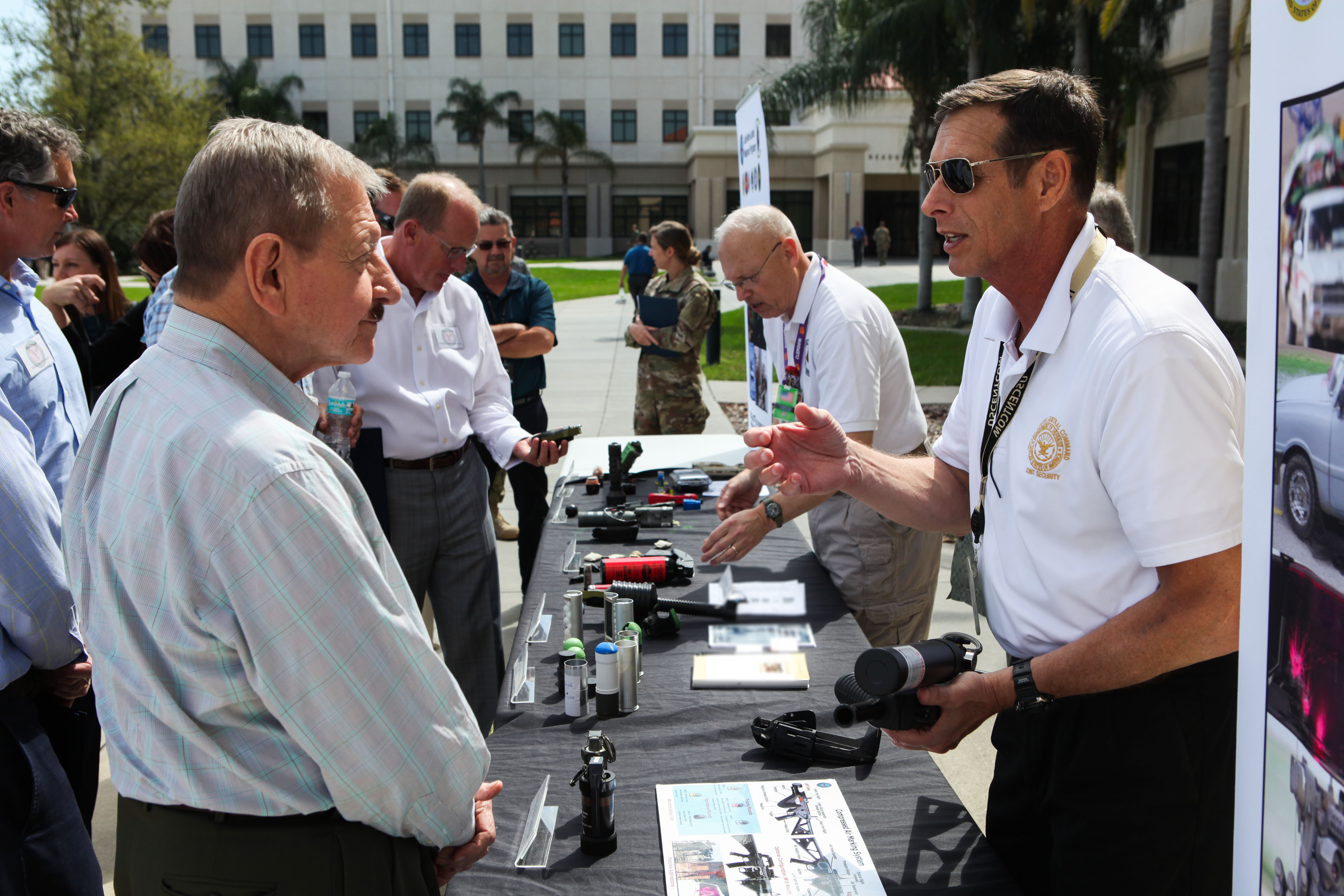 NLW Displayed for Local Business Leaders at MacDill AFB