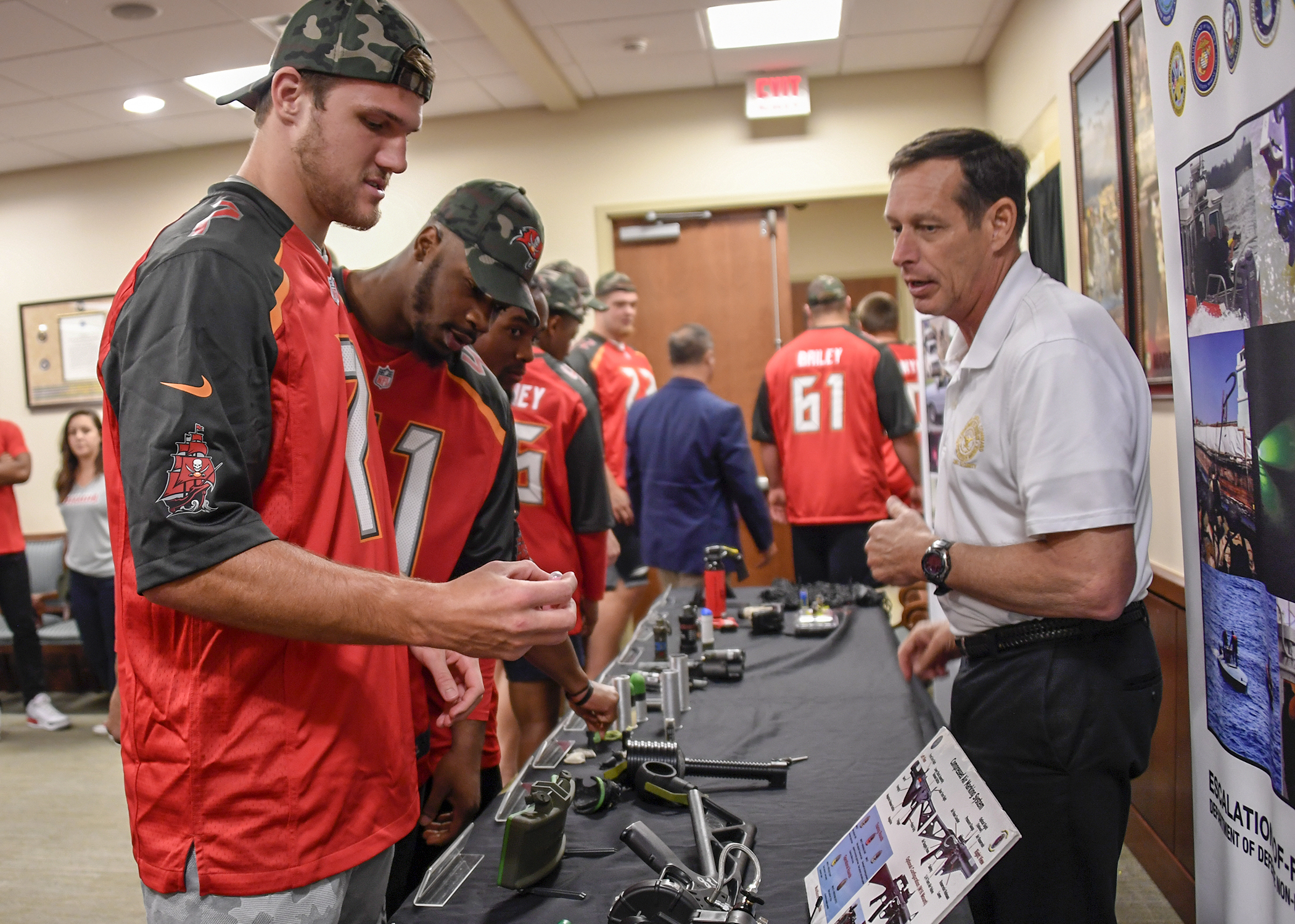 Tampa Bay Buccaneers Examine Non-Lethal Weapons