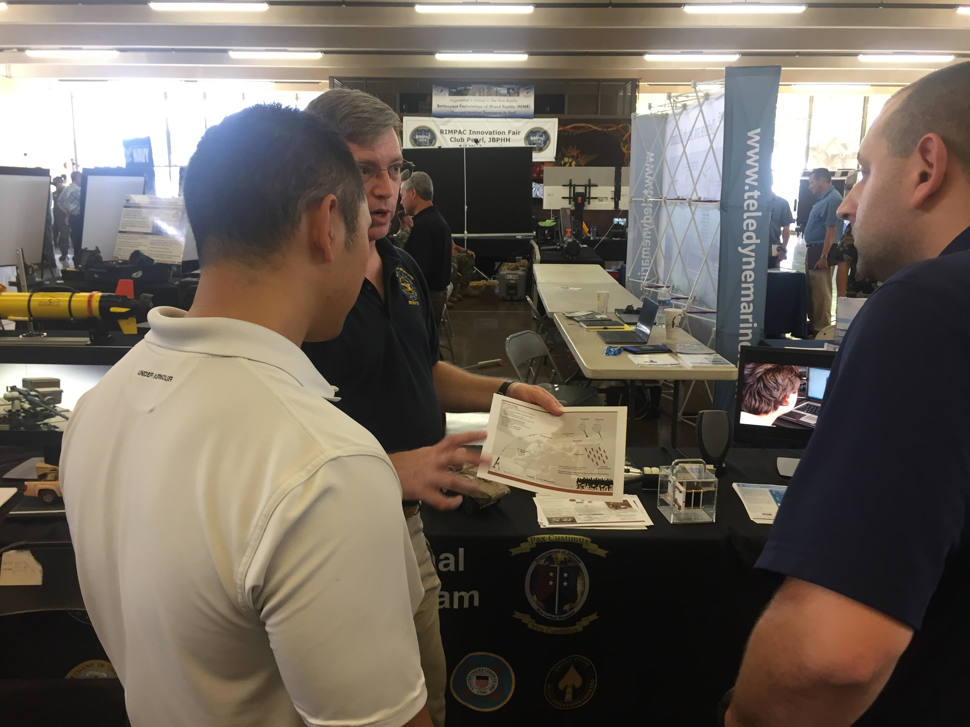 SOUND & LIGHT, NON-LETHAL DE WEAPONS ON DISPLAY AT INDO-PACOM INNOVATION FAIR