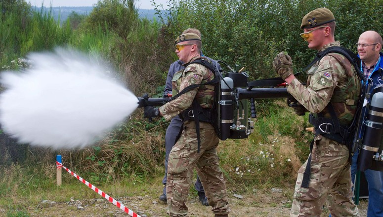 NATO Non-Lethal Weapon Exercise