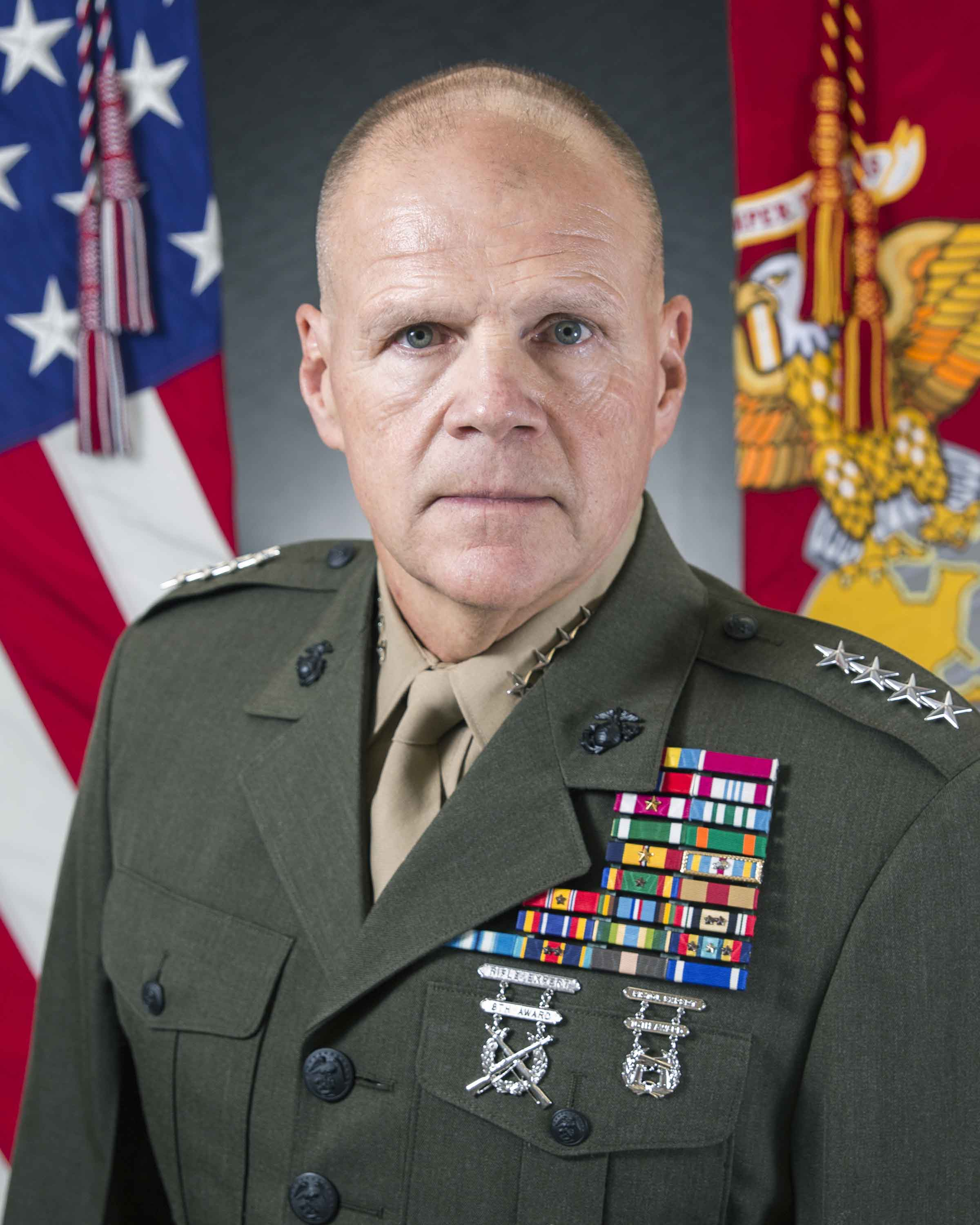 Commandant of the Marine Corps Gen. Robert B. Neller