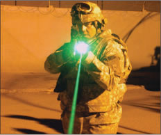 Green Laser Interdiction System